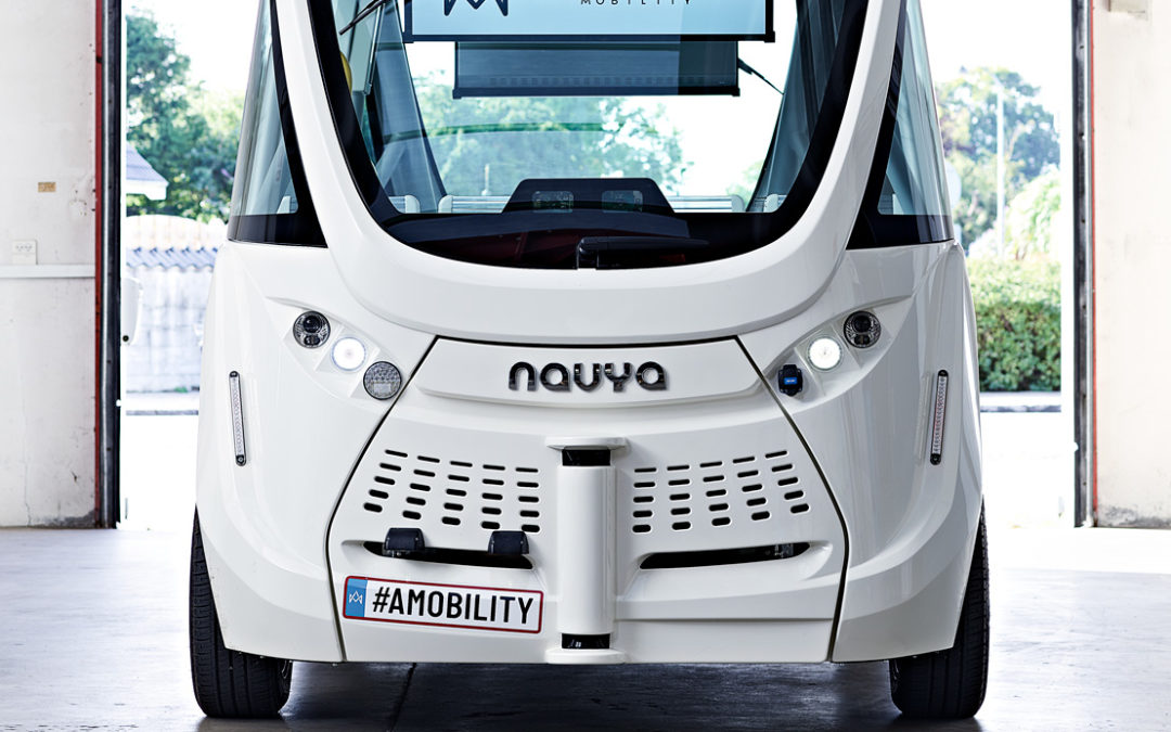 We want to hear from you about self-driving shuttles!