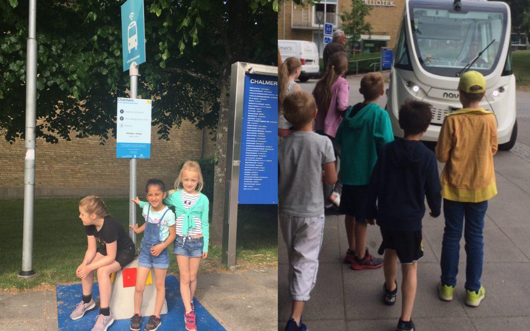Självkörande bussen i Göteborg: Nio av tio passagerare är nöjda