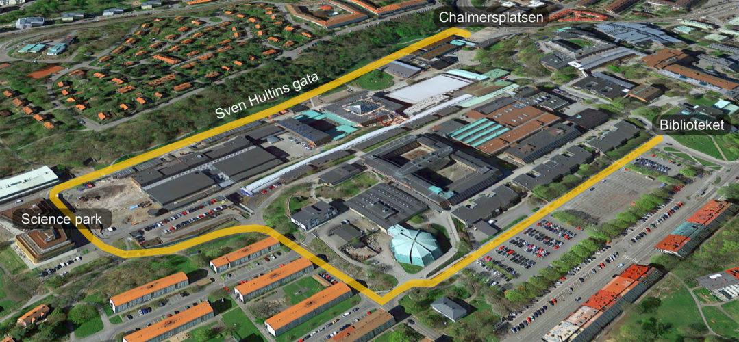 Nystart vid Chalmers campus Johanneberg