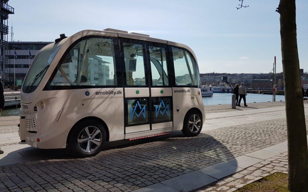 Nu övar skyttelbussen på Lindholmen!